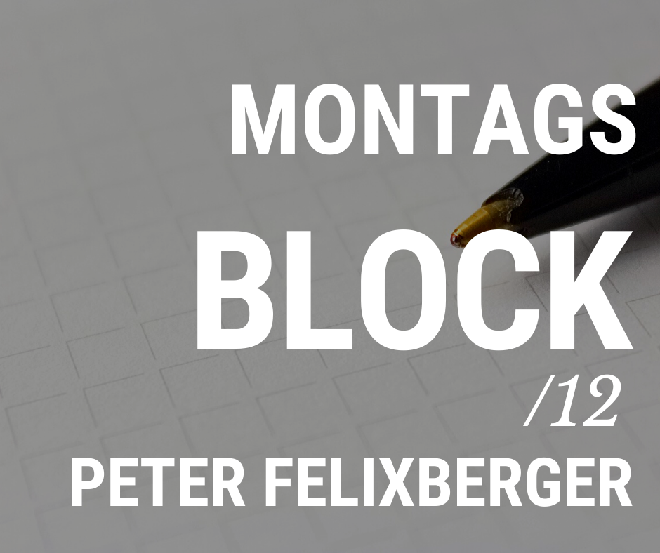 MONTAGSBLOCK /12