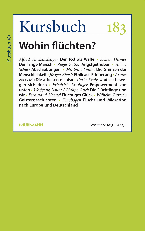Kursbuch 183 – Editorial