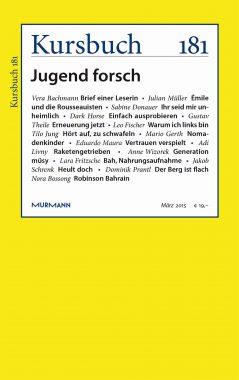 Kursbuch 181 – Editorial