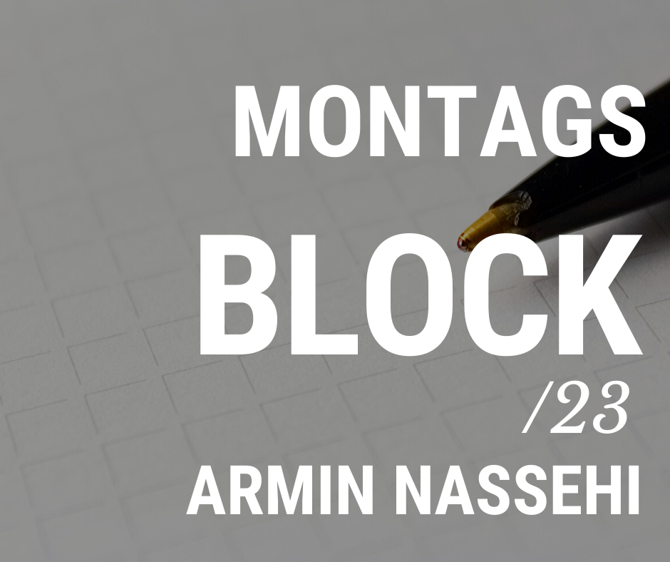 MONTAGSBLOCK /23