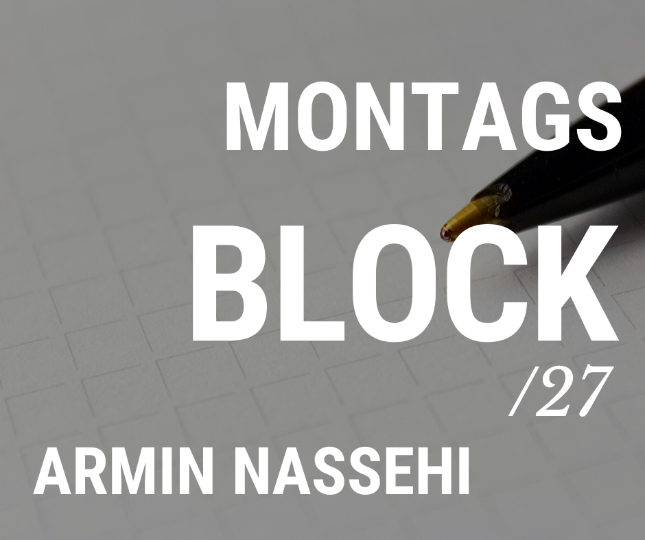 MONTAGSBLOCK /27