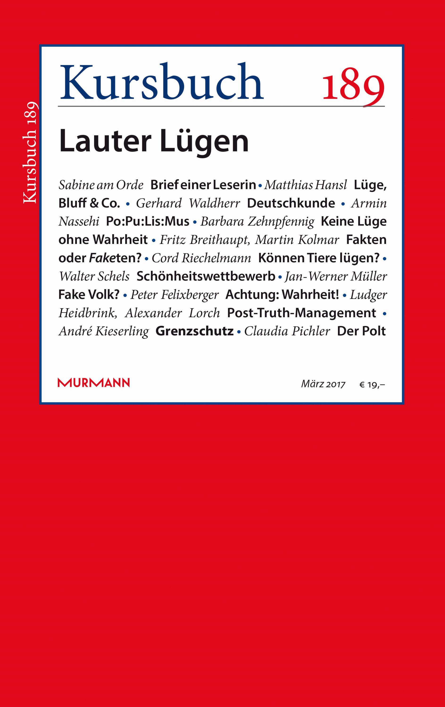 Kursbuch 189 – Editorial