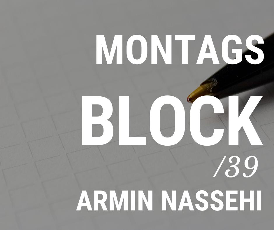 MONTAGSBLOCK /39