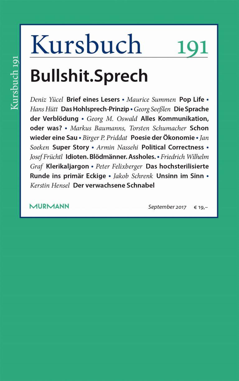 Kursbuch 191 – Editorial