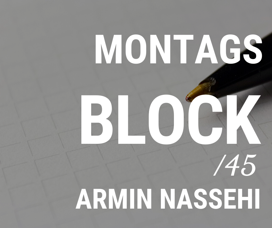 MONTAGSBLOCK /45