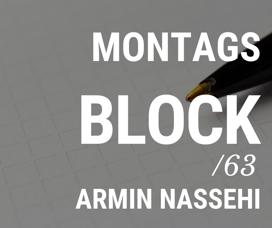 MONTAGSBLOCK /63