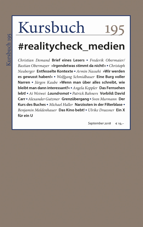 Kursbuch 195 – Editorial