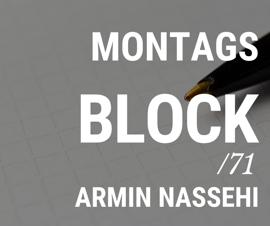MONTAGSBLOCK /71