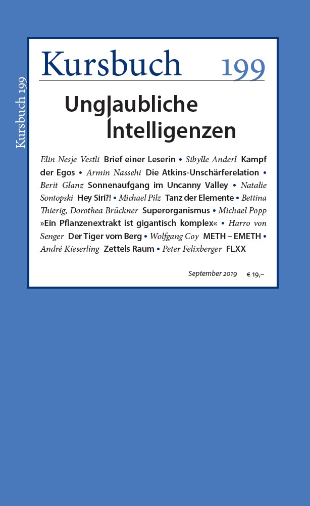 Kursbuch 199 – Editorial