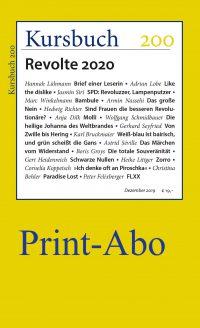 Jahresabo-Print für Studierende – Ab Kursbuch 200