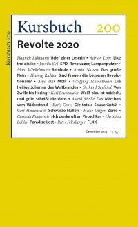 Kursbuch 200 – Revolte 2020