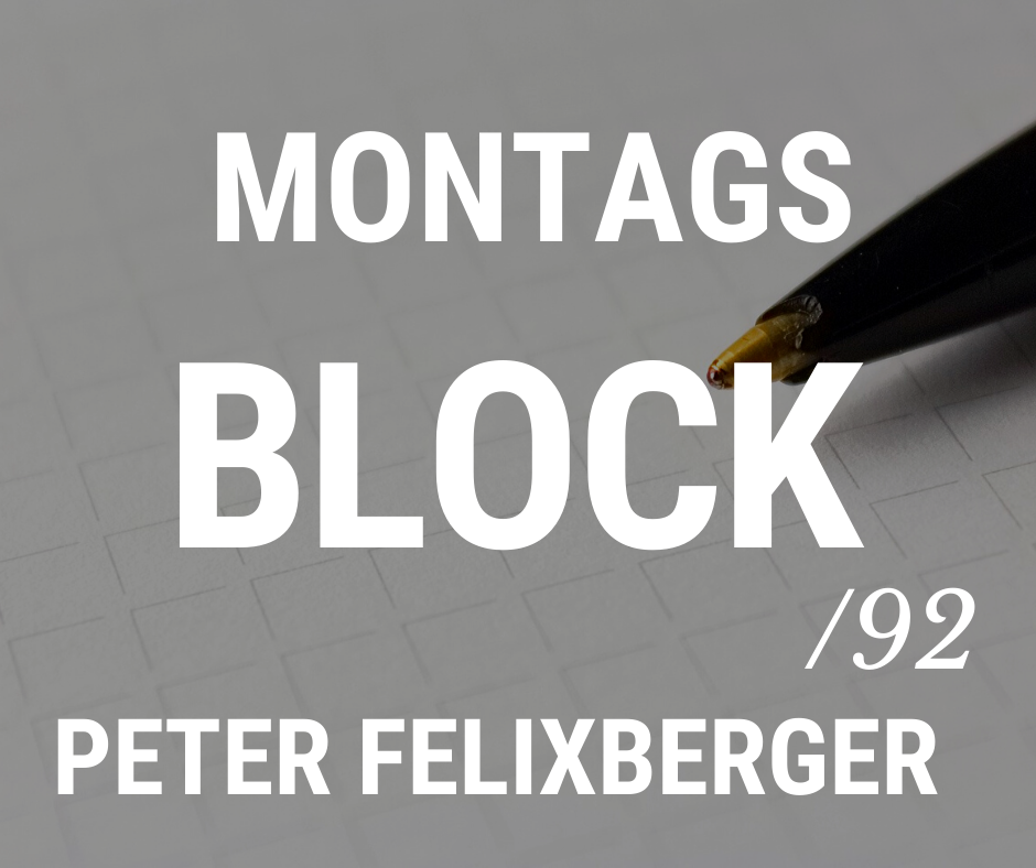 MONTAGSBLOCK/ 92
