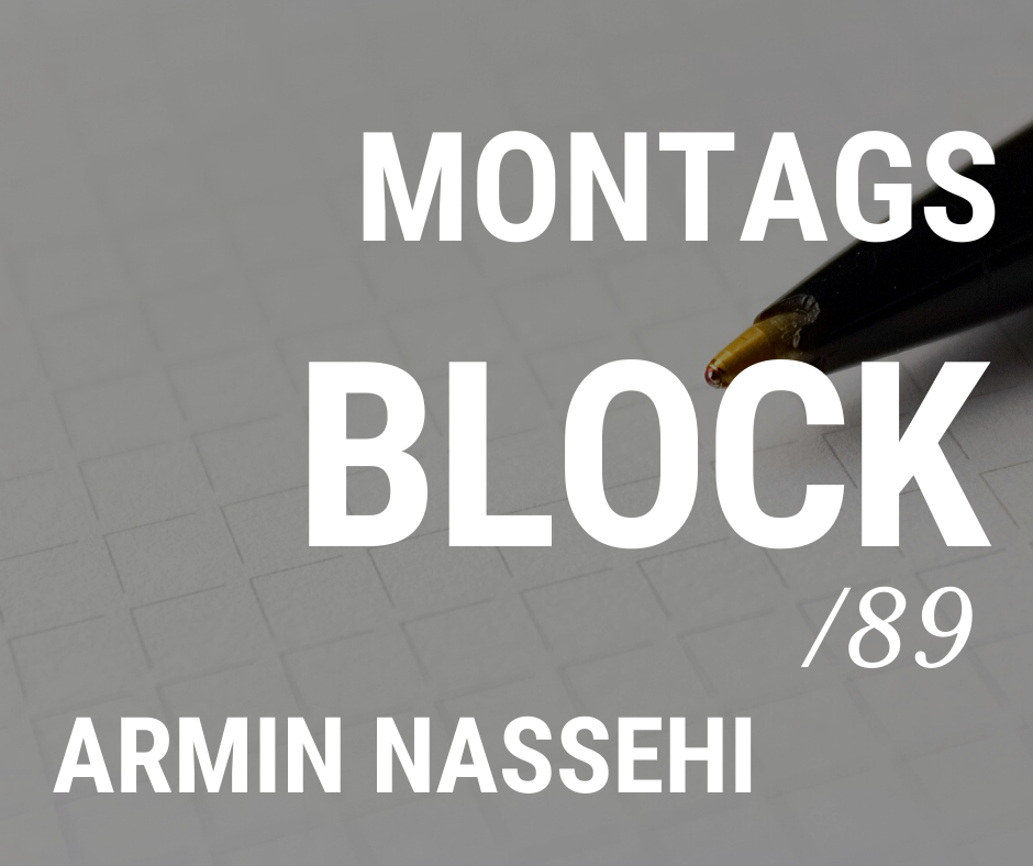 MONTAGSBLOCK /89