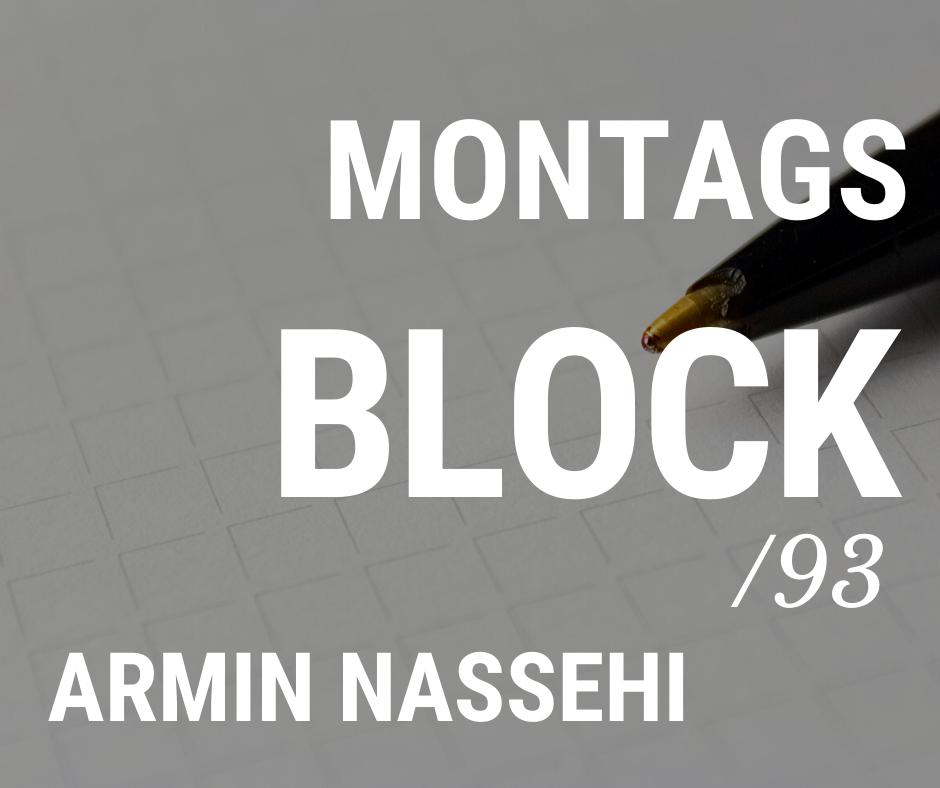 MONTAGSBLOCK/ 93