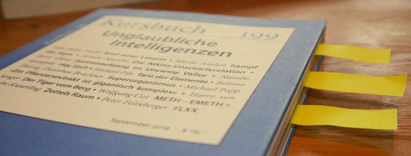 Kursbuch 199: Über Überschriften – eine Durchsicht