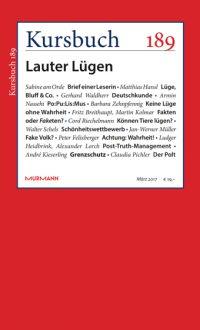 Kursbuch 189 – Lauter Lügen