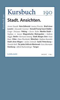 Kursbuch 190 – Stadt. Ansichten.