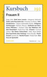 Kursbuch 192 – Frauen II