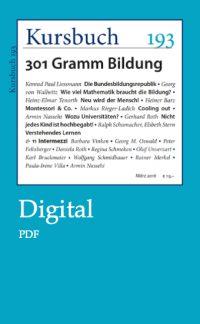 Kursbuch 193 Digital – PDF