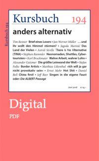Kursbuch 194 Digital – PDF