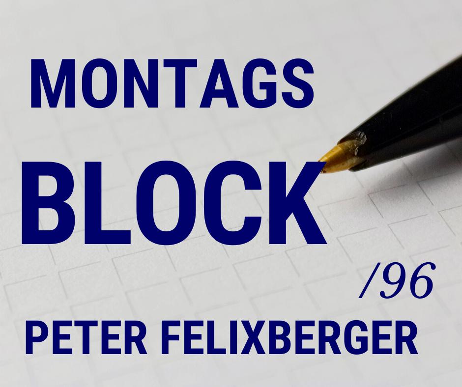 MONTAGSBLOCK /96