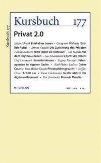 Kursbuch 177 – Privat 2.0