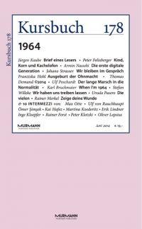 Kursbuch 178 – 1964
