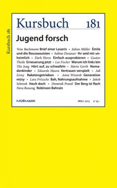 Kursbuch 181 – Jugend forsch