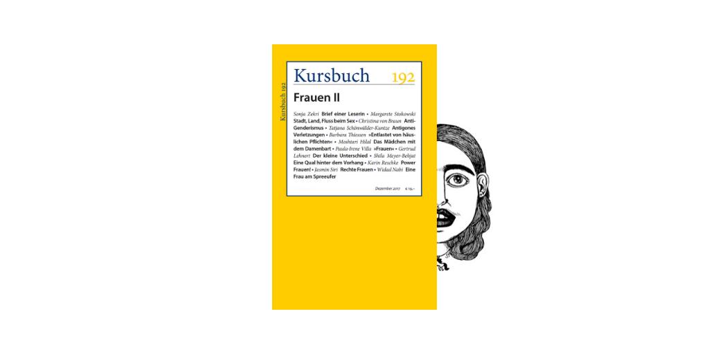 Kursbuch 192: Moshtari Hilal zum Weltfrauentag