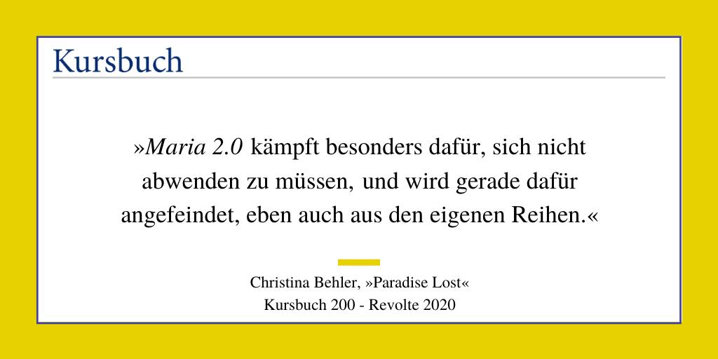 KursPod: Christina Behler – Paradise Lost