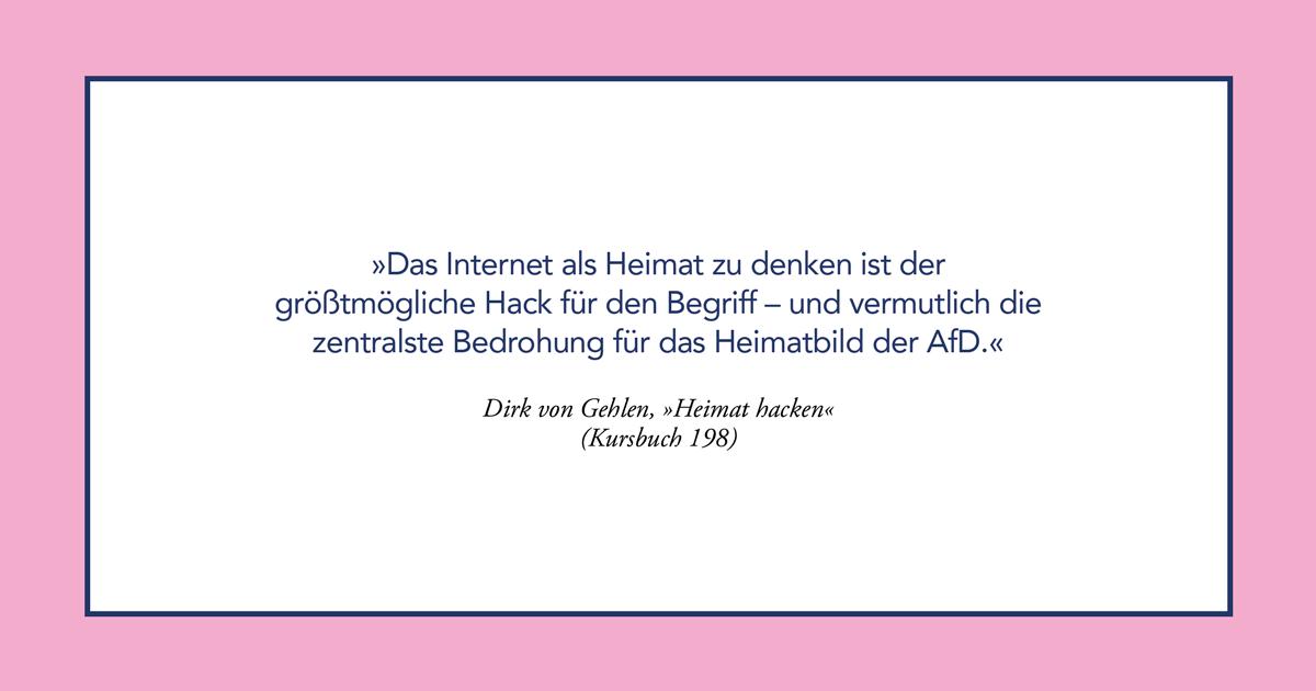 KursPod: Dirk von Gehlen – Heimat hacken