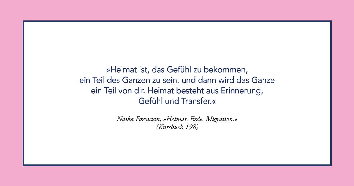 KursPod: Naika Foroutan – Heimat. Erde. Migration.