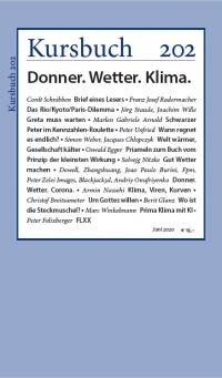 Kursbuch 202 – Donner. Wetter. Klima.