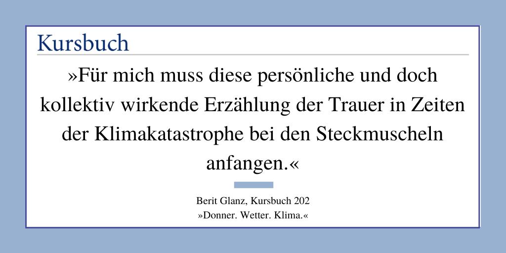 KursPod: Berit Glanz – Wo ist die Steckmuschel?