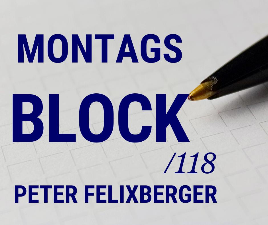 Montagsblock /118