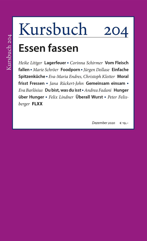 Kursbuch 204 – Essen fassen