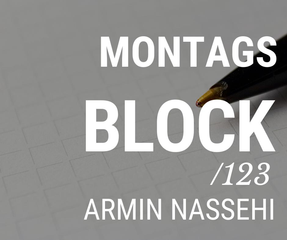 MONTAGSBLOCK /123