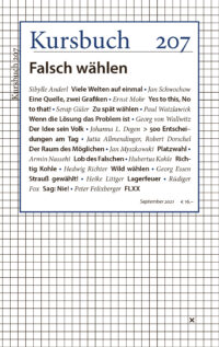 Jahresabo-Print für Studierende – Ab Kursbuch 207